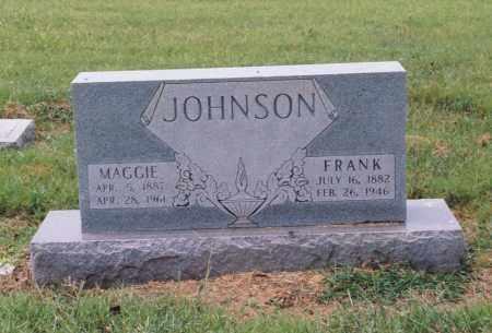 JOHNSON, MAGGIE - Randolph County, Arkansas | MAGGIE JOHNSON - Arkansas Gravestone Photos
