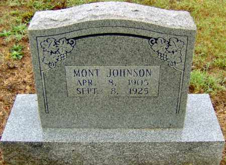 JOHNSON, MONT - Randolph County, Arkansas | MONT JOHNSON - Arkansas Gravestone Photos