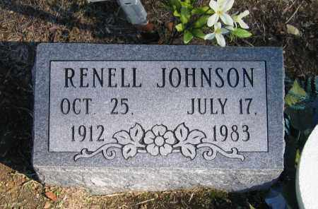 YOUNG JOHNSON, RENELL - Randolph County, Arkansas | RENELL YOUNG JOHNSON - Arkansas Gravestone Photos