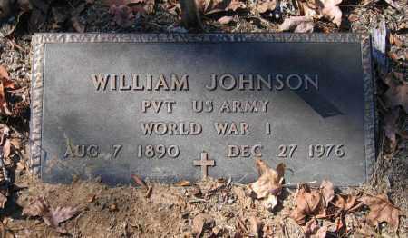 JOHNSON (VETERAN WWI), WILIAM - Randolph County, Arkansas | WILIAM JOHNSON (VETERAN WWI) - Arkansas Gravestone Photos