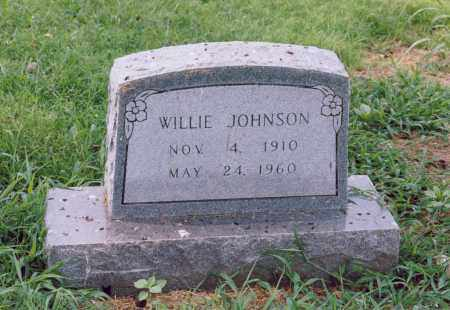 JOHNSON, WILLIE - Randolph County, Arkansas | WILLIE JOHNSON - Arkansas Gravestone Photos