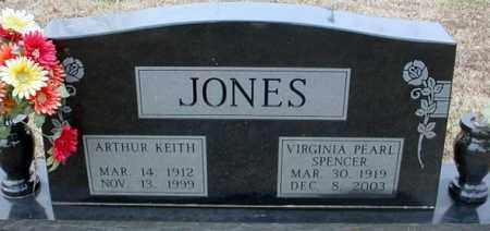 JONES, ARTHUR KEITH - Randolph County, Arkansas | ARTHUR KEITH JONES - Arkansas Gravestone Photos