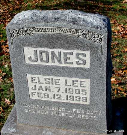 JONES, ELSIE LEE - Randolph County, Arkansas | ELSIE LEE JONES - Arkansas Gravestone Photos
