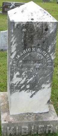 KIBLER, DR MARION H - Randolph County, Arkansas | DR MARION H KIBLER - Arkansas Gravestone Photos