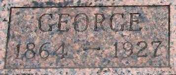 KIEFER, GEORGE   CLOSE UP - Randolph County, Arkansas   GEORGE   CLOSE UP KIEFER - Arkansas Gravestone Photos