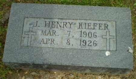 KIEFER, J. HENRY - Randolph County, Arkansas | J. HENRY KIEFER - Arkansas Gravestone Photos
