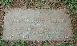 KIEFER (VETERAN VIET, KIA), JOE HAROLD - Randolph County, Arkansas | JOE HAROLD KIEFER (VETERAN VIET, KIA) - Arkansas Gravestone Photos