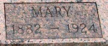 KIEFER, MARY VIRGINIA   CLOSE UP - Randolph County, Arkansas | MARY VIRGINIA   CLOSE UP KIEFER - Arkansas Gravestone Photos