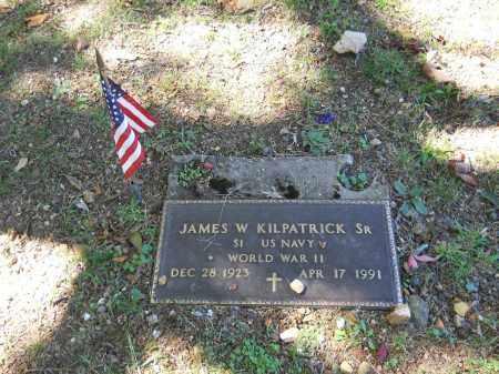 KILPATRICK, SR (VETERAN WWII, JAMES W - Randolph County, Arkansas   JAMES W KILPATRICK, SR (VETERAN WWII - Arkansas Gravestone Photos