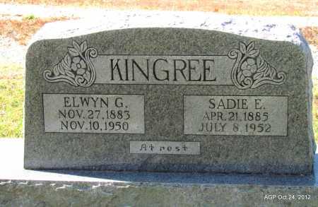 KINGREE, SADIE E - Randolph County, Arkansas | SADIE E KINGREE - Arkansas Gravestone Photos