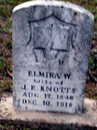 KNOTTS, ELMIRA WHITE - Randolph County, Arkansas | ELMIRA WHITE KNOTTS - Arkansas Gravestone Photos