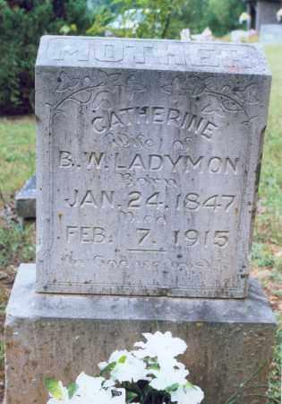 LADYMON, CATHERINE - Randolph County, Arkansas | CATHERINE LADYMON - Arkansas Gravestone Photos