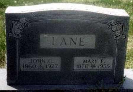 LANE, JOHN COLE - Randolph County, Arkansas   JOHN COLE LANE - Arkansas Gravestone Photos