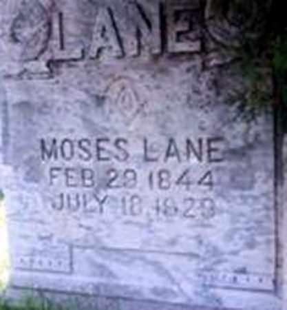 LANE, MOSES - Randolph County, Arkansas | MOSES LANE - Arkansas Gravestone Photos