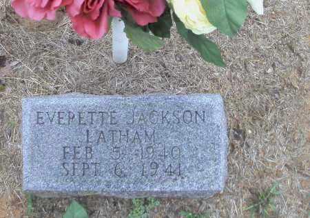 LATHAM, EVERETTE JACKSON - Randolph County, Arkansas   EVERETTE JACKSON LATHAM - Arkansas Gravestone Photos