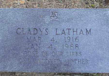 TEEL LATHAM, GLADYS - Randolph County, Arkansas   GLADYS TEEL LATHAM - Arkansas Gravestone Photos