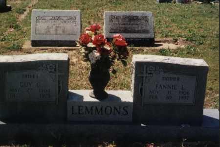 LEMMONS, GUY GEORGE - Randolph County, Arkansas | GUY GEORGE LEMMONS - Arkansas Gravestone Photos