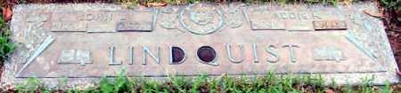 LINDQUIST, JOHN E - Randolph County, Arkansas | JOHN E LINDQUIST - Arkansas Gravestone Photos