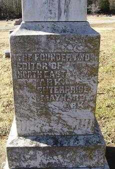 LINDSEY, WILLIAM RUFUS - Randolph County, Arkansas | WILLIAM RUFUS LINDSEY - Arkansas Gravestone Photos