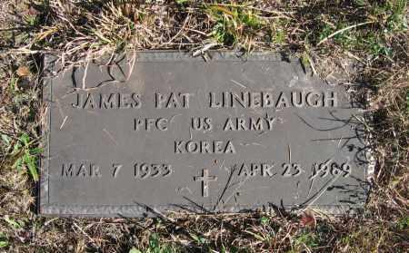 LINEBAUGH (VETERAN KOR), JAMES PAT - Randolph County, Arkansas | JAMES PAT LINEBAUGH (VETERAN KOR) - Arkansas Gravestone Photos