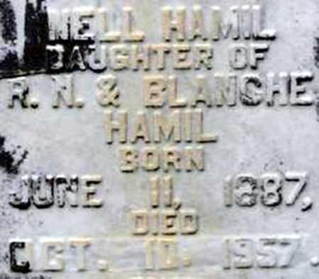 HAMIL LUCAS, NELL - Randolph County, Arkansas | NELL HAMIL LUCAS - Arkansas Gravestone Photos