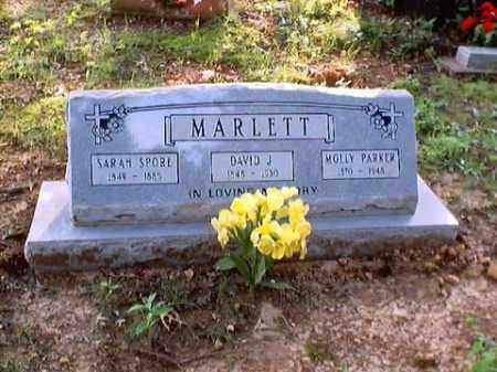 "PARKER MARLETT, MARY E. ""MOLLY"" - Randolph County, Arkansas 