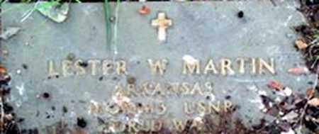 MARTIN, LESTER W - Randolph County, Arkansas | LESTER W MARTIN - Arkansas Gravestone Photos