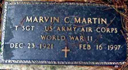 MARTIN (VETERAN WWII), MARVIN C - Randolph County, Arkansas | MARVIN C MARTIN (VETERAN WWII) - Arkansas Gravestone Photos