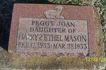 MASON, PEGGY JOAN - Randolph County, Arkansas | PEGGY JOAN MASON - Arkansas Gravestone Photos