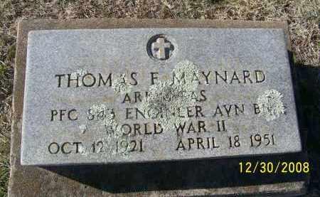 MAYNARD (VETERAN WWII), THOMAS F - Randolph County, Arkansas | THOMAS F MAYNARD (VETERAN WWII) - Arkansas Gravestone Photos