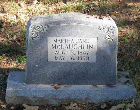 MCLAUGHLIN, MARTHA P. JANE - Randolph County, Arkansas | MARTHA P. JANE MCLAUGHLIN - Arkansas Gravestone Photos
