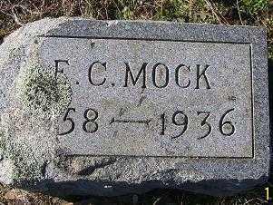 MOCK, E. C. - Randolph County, Arkansas   E. C. MOCK - Arkansas Gravestone Photos