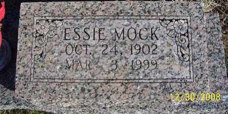 MOCK, ESSIE - Randolph County, Arkansas | ESSIE MOCK - Arkansas Gravestone Photos
