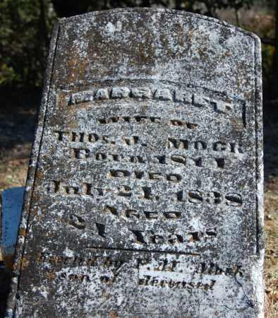 MOCK, MARGARET - Randolph County, Arkansas   MARGARET MOCK - Arkansas Gravestone Photos
