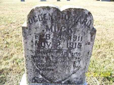 MOCK, OGDEN HOWARD - Randolph County, Arkansas | OGDEN HOWARD MOCK - Arkansas Gravestone Photos