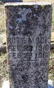 MOCK, RUTH - Randolph County, Arkansas | RUTH MOCK - Arkansas Gravestone Photos