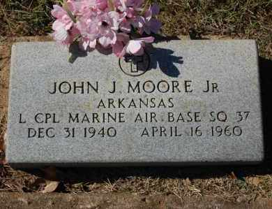 MOORE, JR (VETERAN), JOHN J - Randolph County, Arkansas | JOHN J MOORE, JR (VETERAN) - Arkansas Gravestone Photos