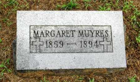 MUYRES, MARGARET - Randolph County, Arkansas | MARGARET MUYRES - Arkansas Gravestone Photos