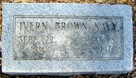 BROWN NAVY, IVERN - Randolph County, Arkansas | IVERN BROWN NAVY - Arkansas Gravestone Photos