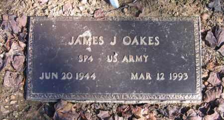 OAKES (VETERAN), JAMES J - Randolph County, Arkansas   JAMES J OAKES (VETERAN) - Arkansas Gravestone Photos