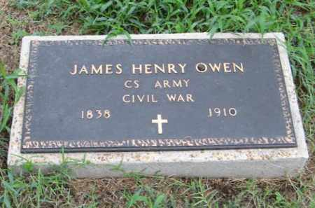 OWEN  (VETERAN CSA), JAMES HENRY - Randolph County, Arkansas | JAMES HENRY OWEN  (VETERAN CSA) - Arkansas Gravestone Photos