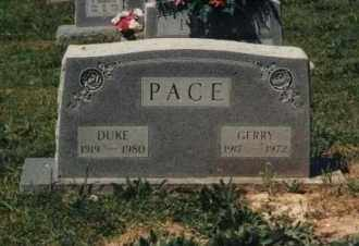 PACE, EDA GERALDINE 'GERRY' - Randolph County, Arkansas | EDA GERALDINE 'GERRY' PACE - Arkansas Gravestone Photos