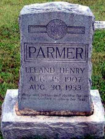 PARMER, LELAND HENRY - Randolph County, Arkansas | LELAND HENRY PARMER - Arkansas Gravestone Photos