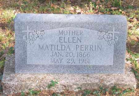 SONGER PERRIN, ELLEN MATILDA - Randolph County, Arkansas | ELLEN MATILDA SONGER PERRIN - Arkansas Gravestone Photos