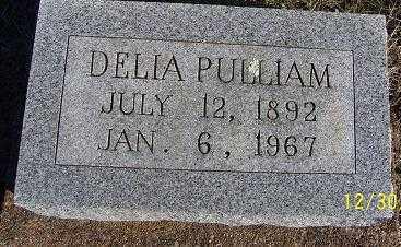 PULLIAM, DELIA - Randolph County, Arkansas   DELIA PULLIAM - Arkansas Gravestone Photos