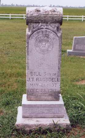 RAGSDELL, BILL (WILLIAM) - Randolph County, Arkansas | BILL (WILLIAM) RAGSDELL - Arkansas Gravestone Photos