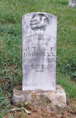 RAGSDELL, INFANT SON - Randolph County, Arkansas | INFANT SON RAGSDELL - Arkansas Gravestone Photos