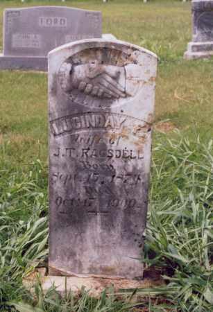RAGSDELL, LUCINDA - Randolph County, Arkansas | LUCINDA RAGSDELL - Arkansas Gravestone Photos