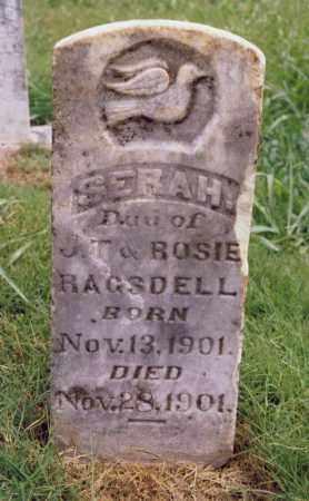 RAGSDELL, SERAH - Randolph County, Arkansas   SERAH RAGSDELL - Arkansas Gravestone Photos