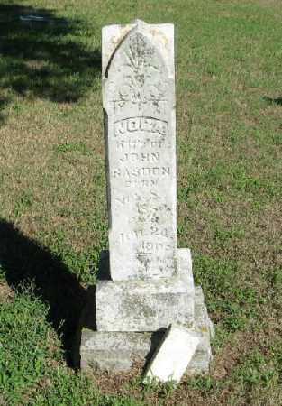 RASDON, NORA - Randolph County, Arkansas   NORA RASDON - Arkansas Gravestone Photos